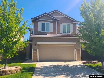 Washoe County Single Family Home New: 3894 Dominus