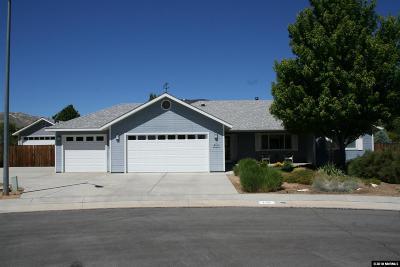 Carson City Single Family Home New: 730 Rasner Ct
