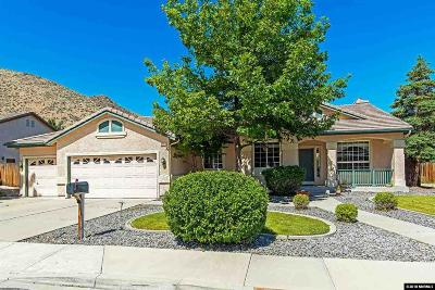 Reno Single Family Home New: 5981 Hidden Highlands Dr #Reno
