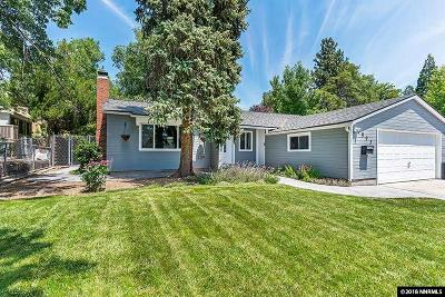 Washoe County Single Family Home New: 1995 Elmcrest Drive