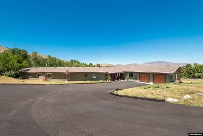Carson City NV Single Family Home New: $875,000