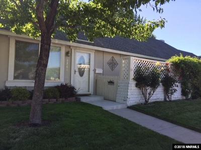 Sparks Single Family Home Active/Pending-Loan: 1761 London Circle