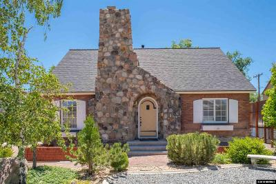 Reno Single Family Home New: 156 Mt. Rose