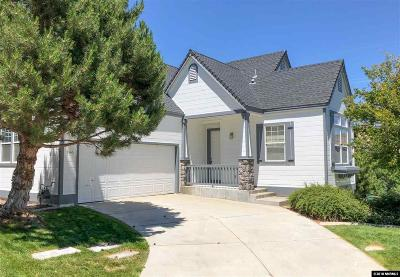 Washoe County Single Family Home New: 3546 Mashie Dr