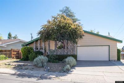 Reno Single Family Home Active/Pending-Call: 1490 O'farrell St.