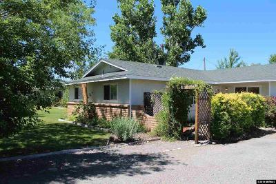 Gardnerville Single Family Home New: 860 Dresslerville Road