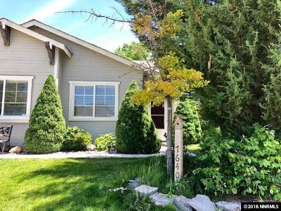 Washoe County Single Family Home New: 7640 La Ramba