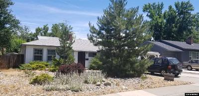Washoe County Single Family Home New: 826 Arbutus St
