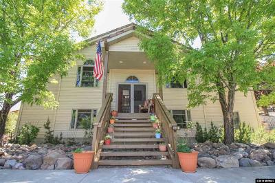 Washoe County Single Family Home For Sale: 3460 Mario Road