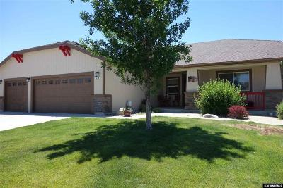 Washoe County Single Family Home New: 1270 Chara Lane