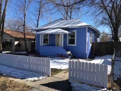Sparks Multi Family Home Active/Pending-Call: 841 F Street #A & B