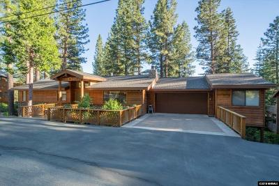 Incline Village Single Family Home For Sale: 591 Knotty Pine Dr