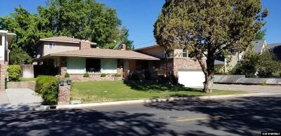 Reno Single Family Home For Sale: 2075 Lakeside Drive