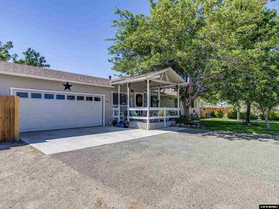 Sparks Single Family Home Active/Pending-Loan: 55 Lindbergh Lane