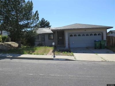 Reno Single Family Home Back On Market: 8605 Strutter