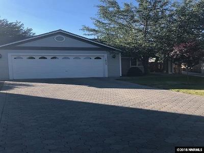 Gardnerville Single Family Home Active/Pending-House: 1455 Edlesborough