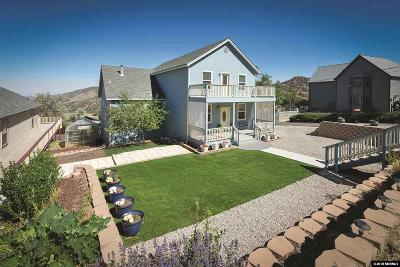 Virginia City Single Family Home Active/Pending-Loan: 145 S N St