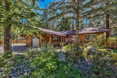 Zephyr Cove Single Family Home Active/Pending-Loan: 255 McFaul Way