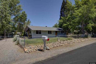 Gardnerville Single Family Home Active/Pending-Loan: 1420 Palisade Cir