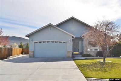 Carson City Single Family Home Active/Pending-Call: 963 Kerinne Circle