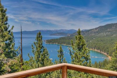Zephyr Cove Single Family Home For Sale: 635 Lookout Road