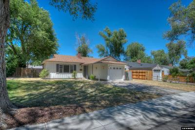 Reno Single Family Home For Sale: 2101 Westfield