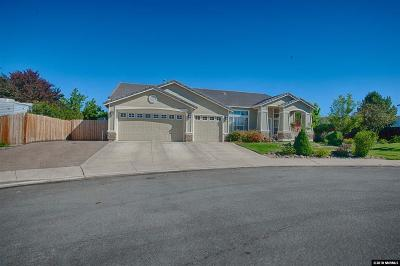 Reno, Sparks, Carson City, Gardnerville Single Family Home Back On Market: 3360 Cantabria Ct.