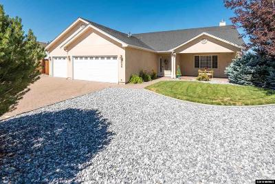 Gardnerville Single Family Home For Sale: 1488 Grendon Way