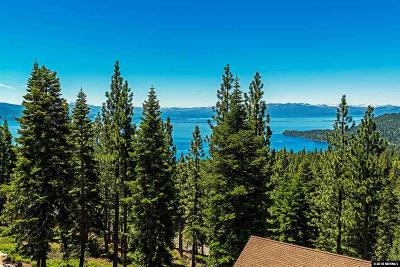 Incline Village Single Family Home For Sale: 696 Saddlehorn Drive