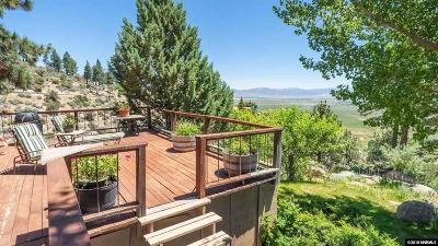 Gardnerville Single Family Home For Sale: 1740 Foothill