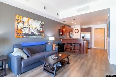 Washoe County Condo/Townhouse For Sale: 255 N Sierra St #517