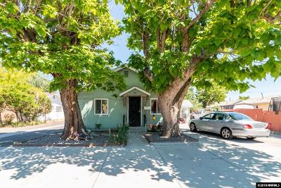 Sparks Multi Family Home For Sale: 614 C St