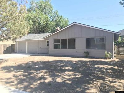 Carson City County Single Family Home For Sale: 1181 E Long St.