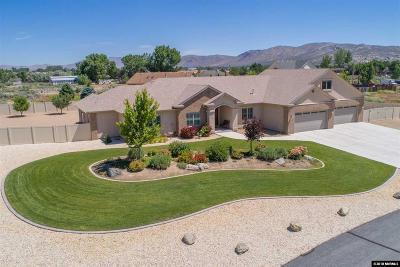 Carson City Single Family Home Active/Pending-Call: 832 Coffey Drive