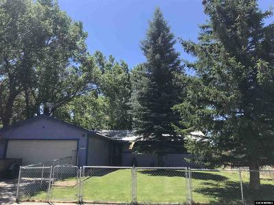Carson City Single Family Home For Sale: 105 W Applegate