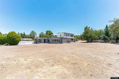 Washoe County Single Family Home For Sale: 1990 W Plumb Lane