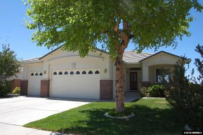 Sparks Single Family Home For Sale: 4240 Desert Highlands