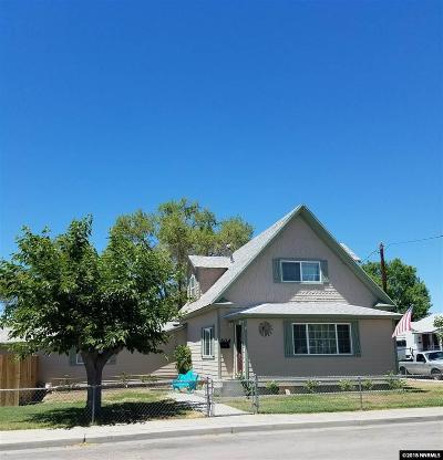 Fallon Single Family Home Price Reduced: 504 Lincoln