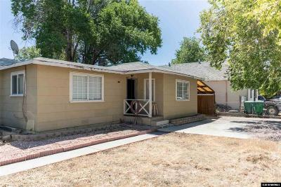 Sparks Single Family Home Active/Pending-Call: 2503 E St.