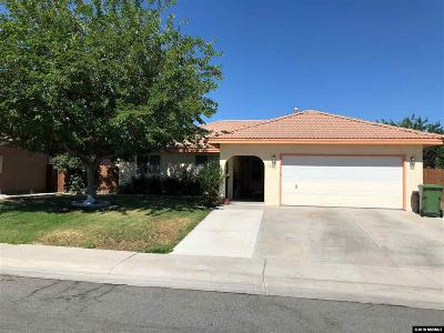 Fallon Single Family Home Price Reduced: 1284 Green Valley Drive