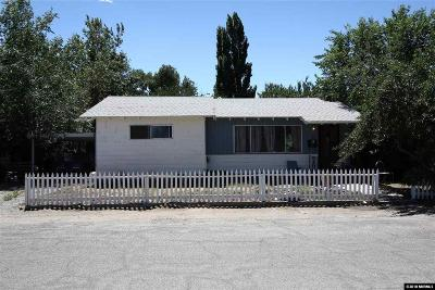 Yerington Single Family Home Active/Pending-Loan: 215 Van Ness Avenue