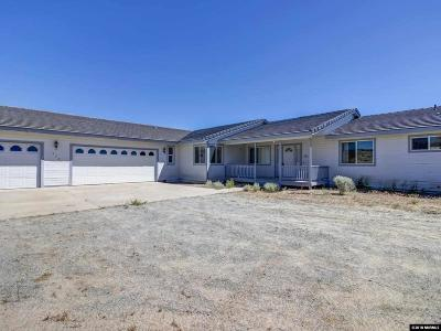 Sparks Single Family Home Active/Pending-Call: 530 Valle Verde