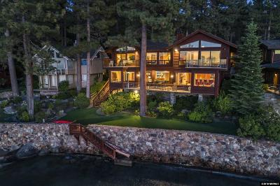 Zephyr Cove NV Single Family Home Active/Pending-Call: $6,950,000