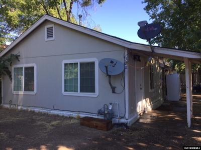 Carson City Single Family Home For Sale: 320 Burton
