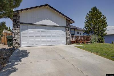 Carson City County Single Family Home For Sale: 980 Hilltop Drive