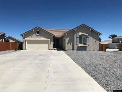 Fernley Single Family Home For Sale: 2950 Walker Ct