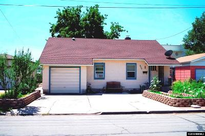 Sparks Single Family Home Active/Pending-Loan: 835 G