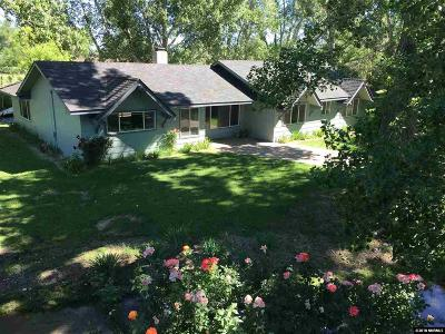 Gardnerville Single Family Home Active/Pending-Call: 1030 Riverview Drive