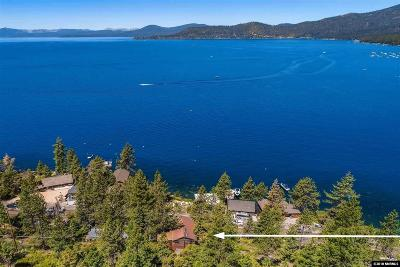 Incline Village Single Family Home For Sale: 1708 Lakeshore