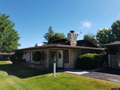 Washoe County Condo/Townhouse For Sale: 3507 E E. Hidden Valley #Drive